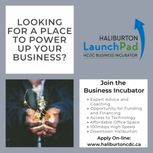 Business Incubator space available