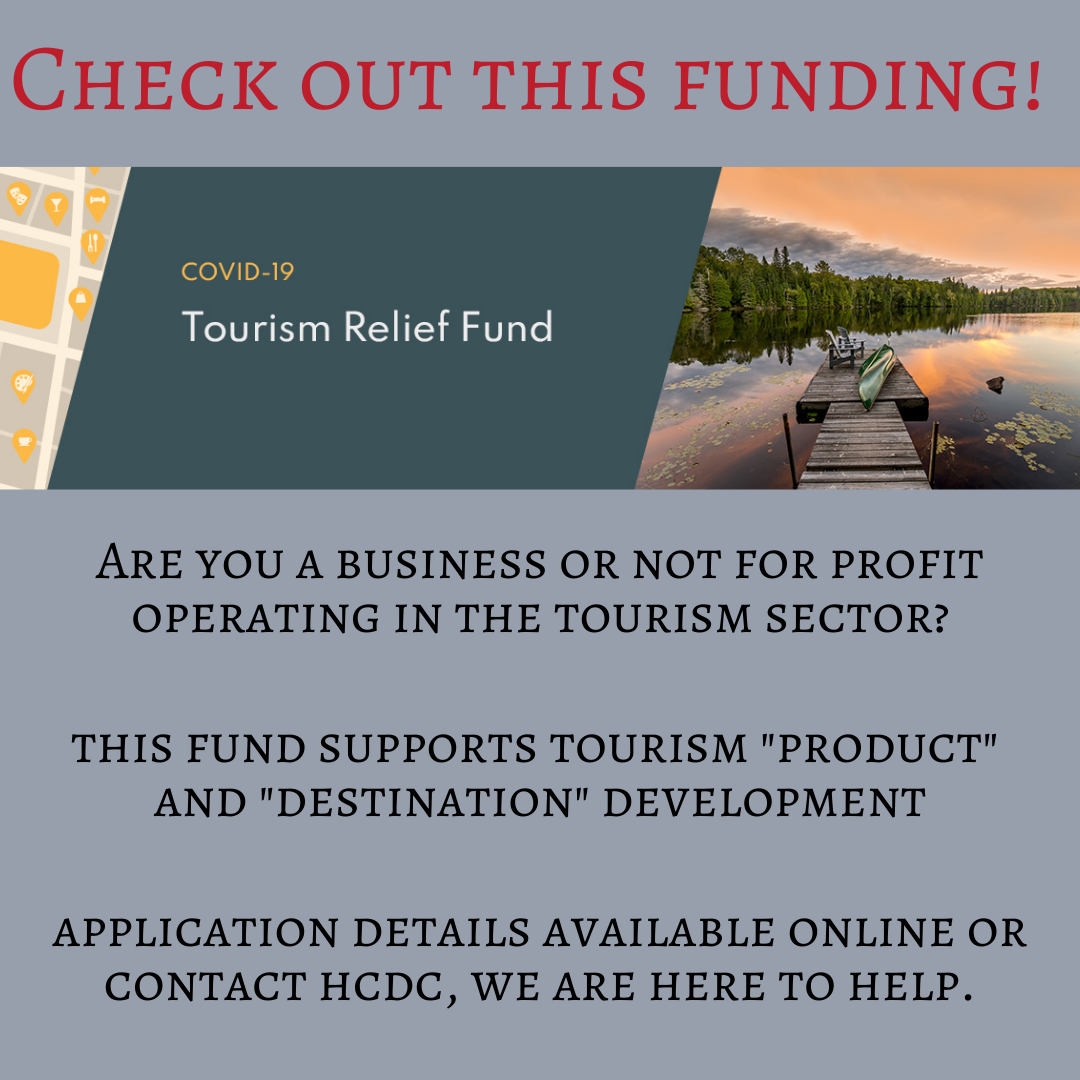 Funding for tourism organizations