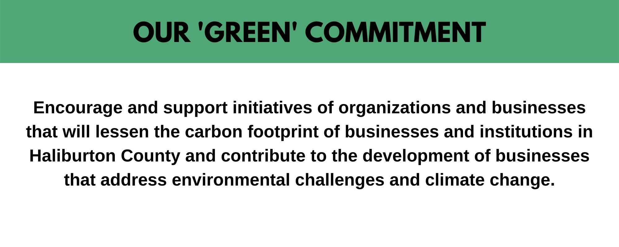 Green Initiatives Page